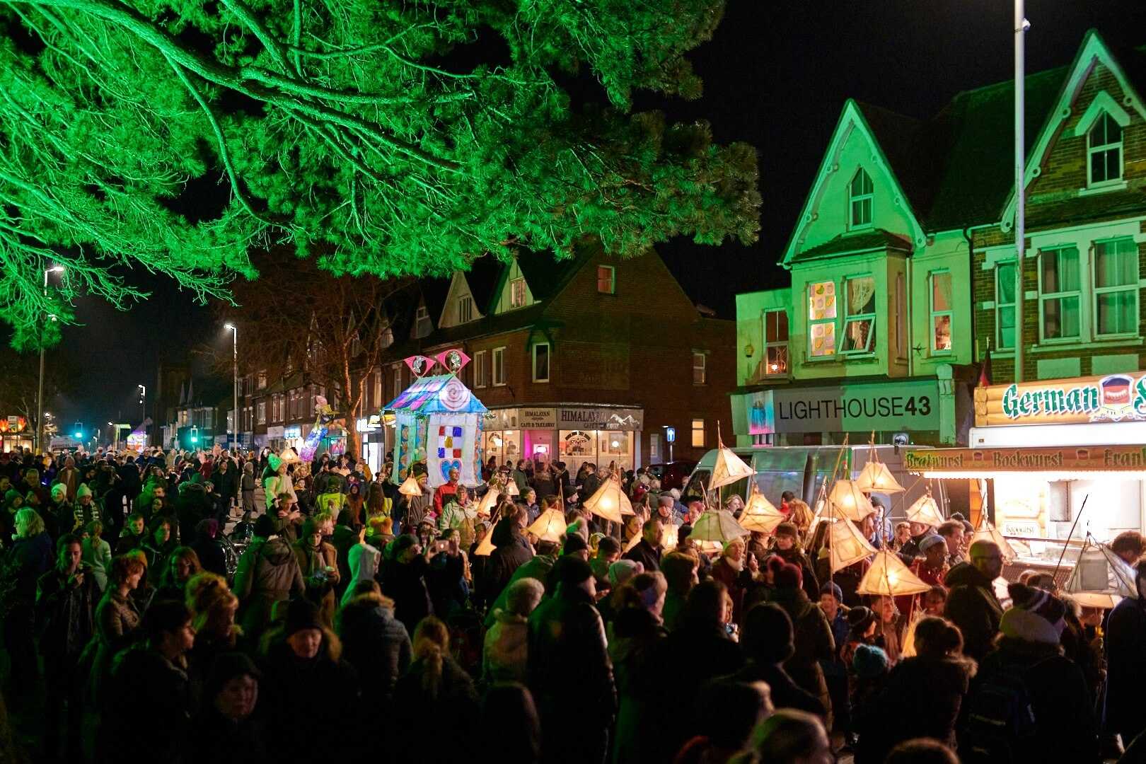 Cheriton Light Festival Video
